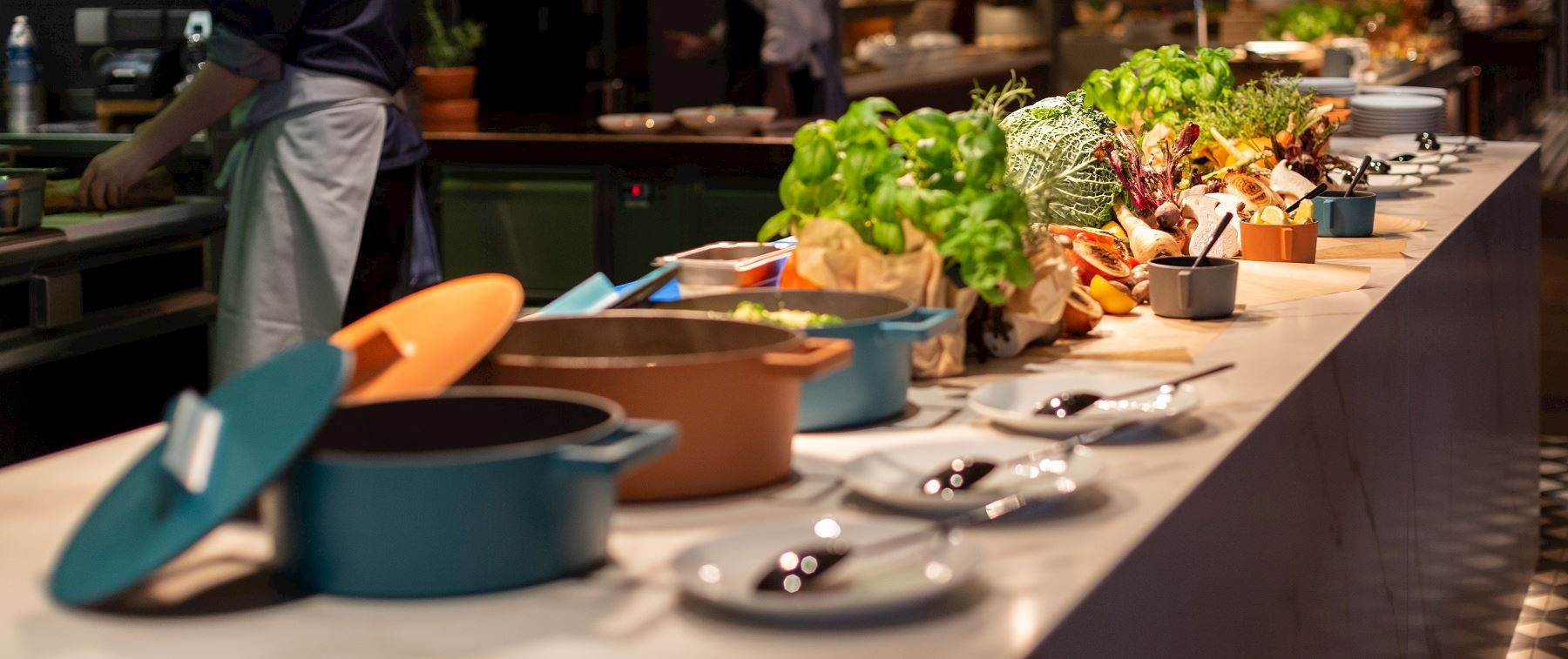 Experience reinvented German cuisine while enjoying special events